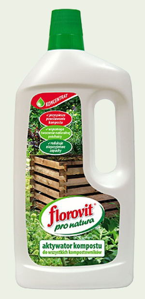 Florovit pro natura aktywator kompostu w płynie