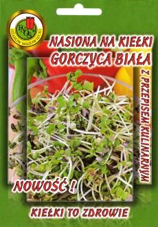 Nasiona na Kiełki - Gorczyca biała
