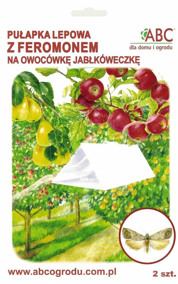Pułapka feromonowa na Owocówkę Jabłkóweczkę