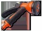 ECO-7203 Pistolet 7-funkcyjny ZEBRA, mosiądz-cynk