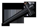 ECO-K0012 Podstawa do zraszacza - kolec DARK GREY