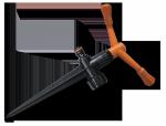 ECO-KT2/228P Zraszacz 2-ramienny z plastikowym kolcem